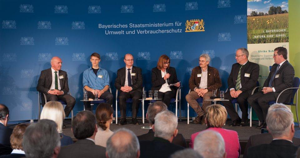 """Gesprächsrunde """"Natura 2000 in Bayern – Perspektiven"""""""