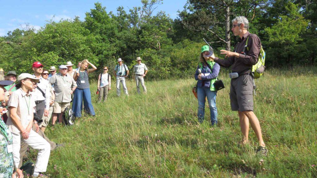 Die Experten vor Ort - Torsten Ruf und Christine Brandt – führten durch die Exkursion.