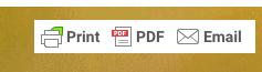 Möglichkeiten um die Datei zu teilen; Print, PDF, Email.