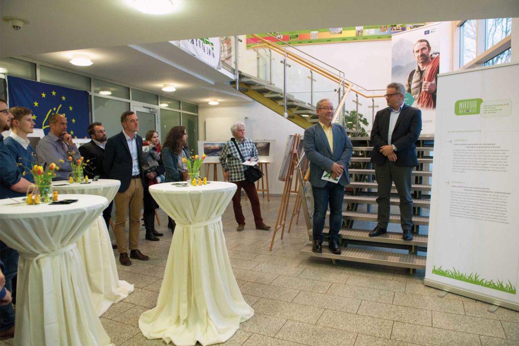 Eröffnung der Ausstellung. Foto Lisa Mitterbuchner/ANL