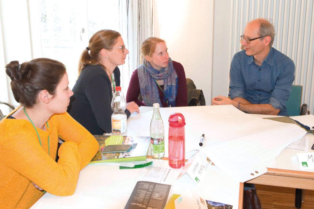 Intensive Falldiskusionen kennzeichneten das Seminar Foto: Florian Wetzel/ANL