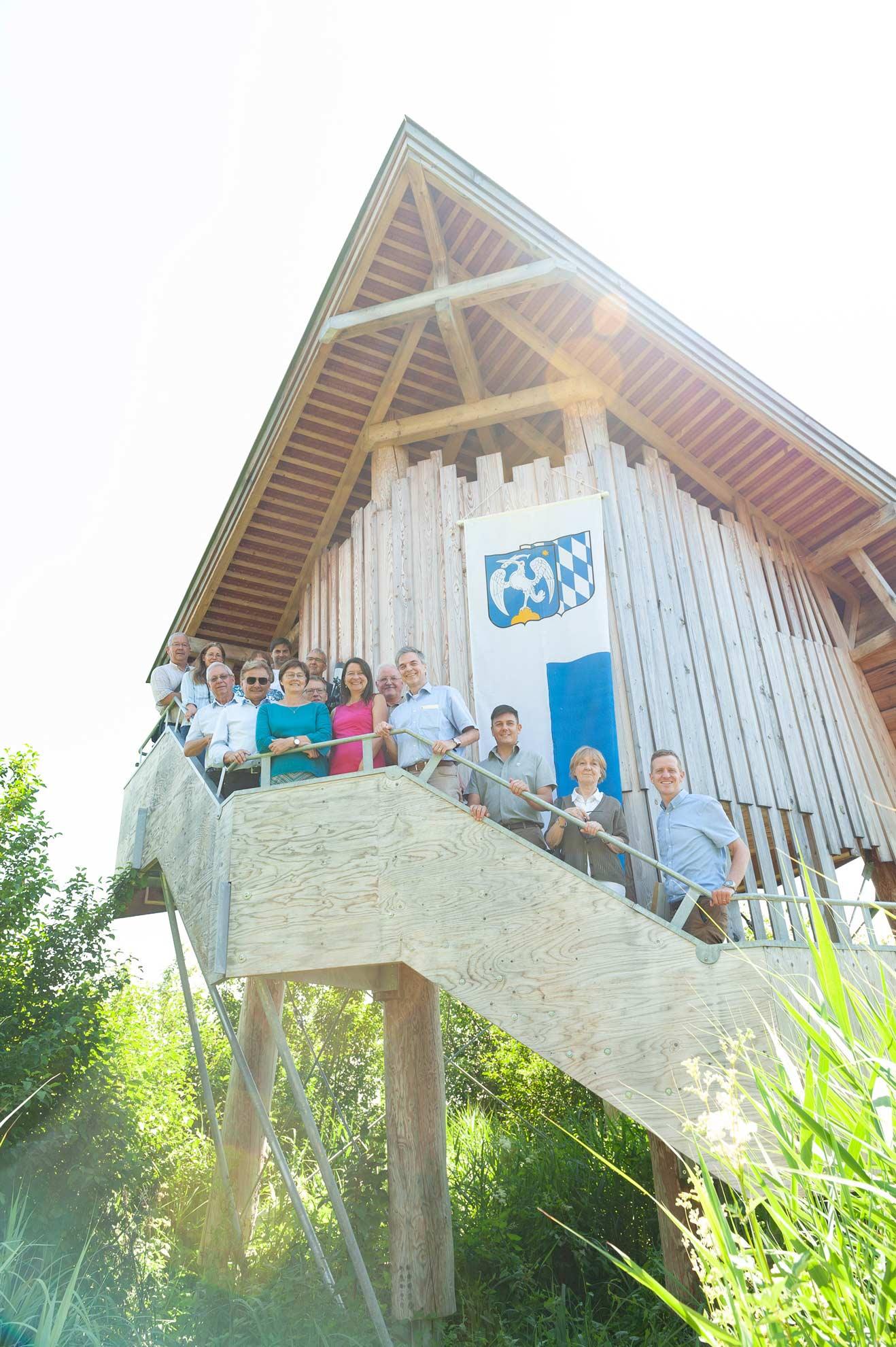 Staatsminister Glauber würdigt Natura 2000 Partnerschaft und Paten