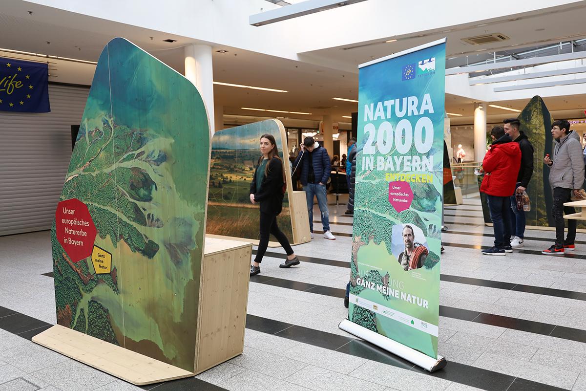 """Jetzt auf Tour: Wanderausstellung """"Ganz meine Natur. Unser europäisches Naturerbe in Bayern"""""""